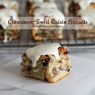 Cinnamon-Swirl Raisin Biscuits
