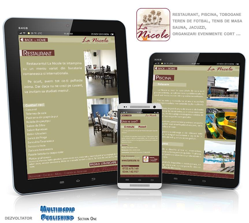 La Nicole - restaurant piscina- screenshot