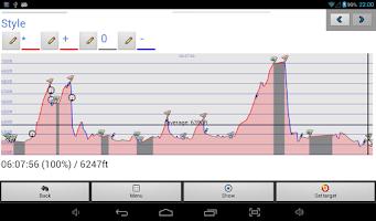 Screenshot of Compass: GPS, Search, Navigate