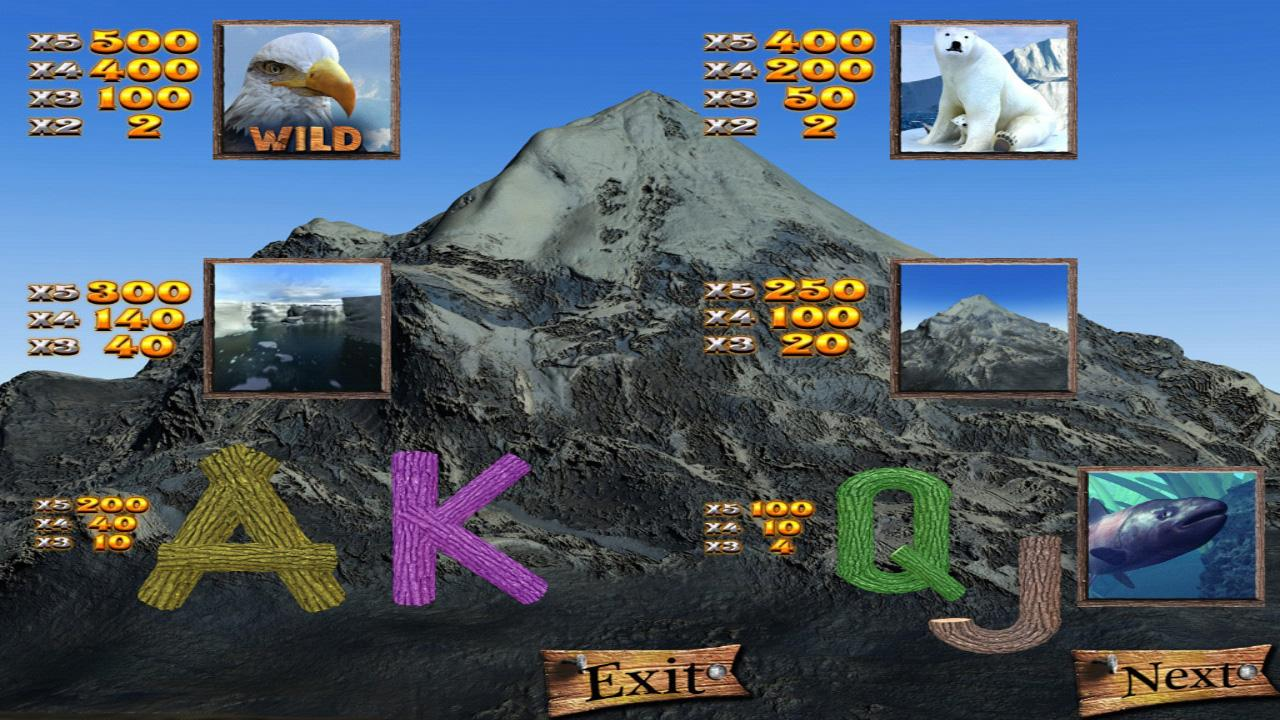 WILD ALASKA SLOT MACHINE - screenshot