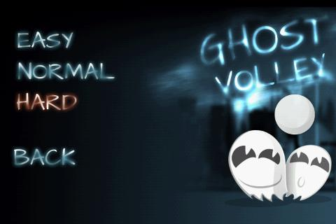 Ghost Volley Lite - screenshot