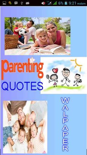 Parenting Quotes Wallpaper