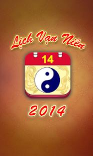 Lich Van Nien - Lịch VN 2014