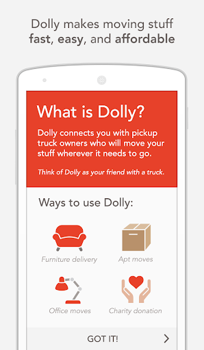 Dolly - Moving your stuff