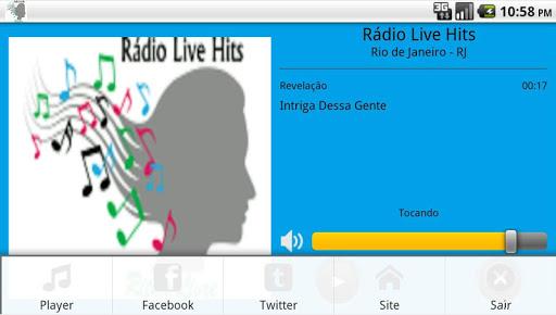 【免費音樂App】Rádio Live Hits-APP點子
