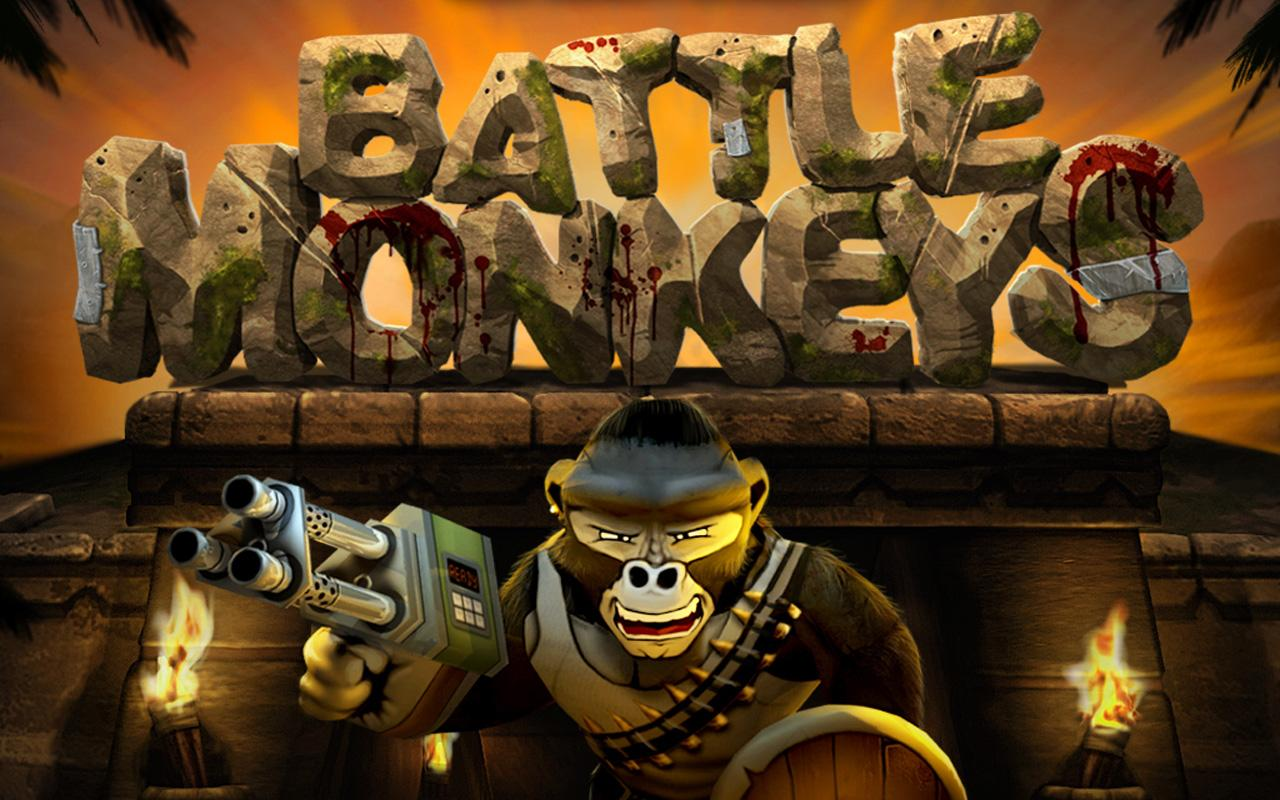 Battle Monkeys Multiplayer - screenshot