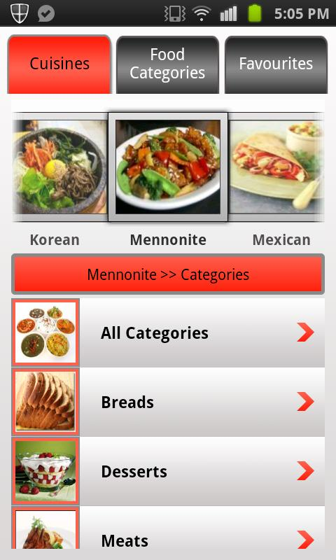 Recipe Guru Pro - screenshot