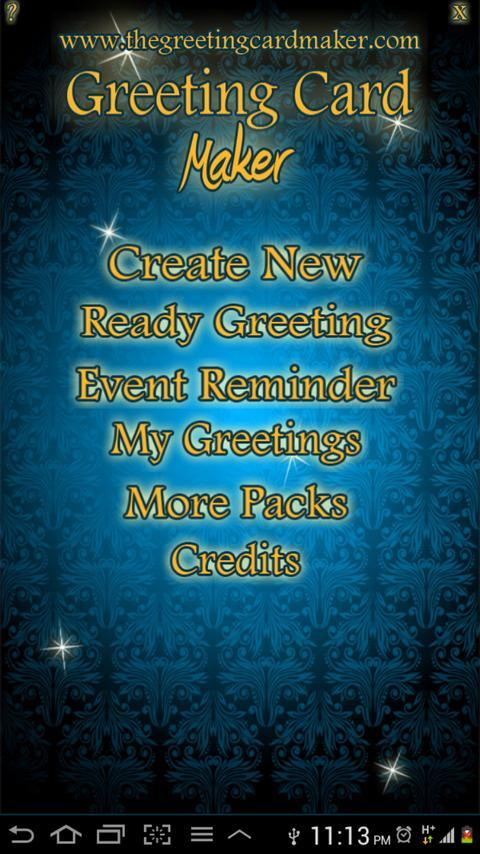 Greeting Card Maker - screenshot