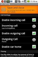Screenshot of Not Call Log 2 - free (NO ADS)