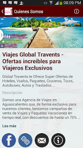 Viajes Global Travents screenshot 5