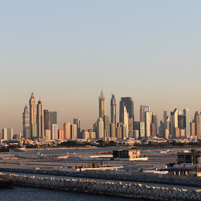 Dubai Skylines by Florante Lamando - Buildings & Architecture Public & Historical ( port, cityscapes, views, buildings, shorelines, landscapes, panorama )