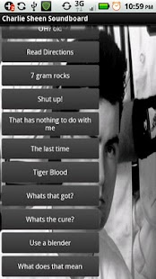 Charlie Sheen Soundboard - screenshot thumbnail