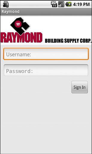 Raymond Web Track