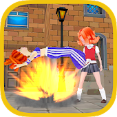 School Girls Fighting HD