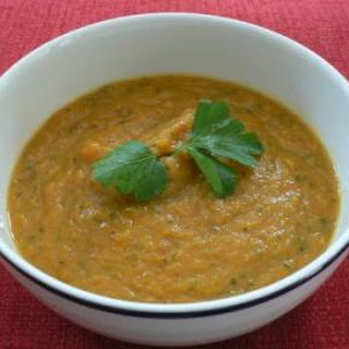 Carrot, Tomato and Zucchini Soup