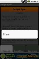Screenshot of Gadget Bytes