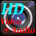 無音 HD ビデオカメラ ( 高画質、写真も同時撮影可能)