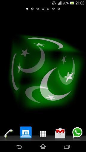3D Pakistan پاکستان Flag LWP