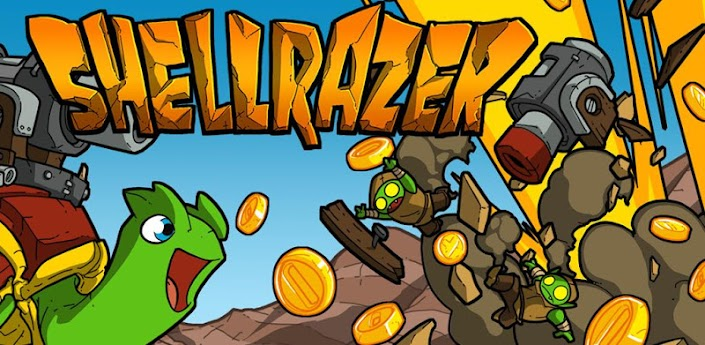 Shellrazer - сайд-скролл шутер для android про черепах