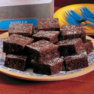 Triple Fudge Brownies.
