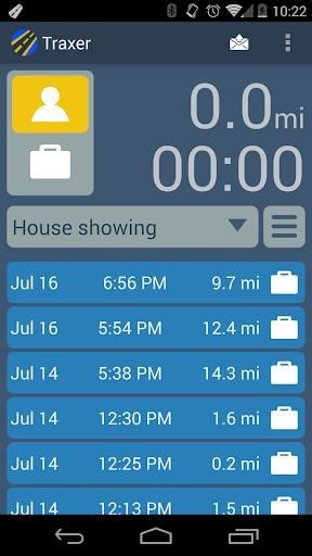 Traxer Mileage Tracker