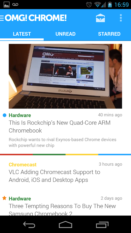 OMG! Chrome! for Android- screenshot