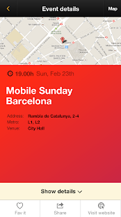 MWC Party guide 2014- screenshot thumbnail