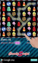 Candy Swipe® 2.0 FREE Screenshot 1