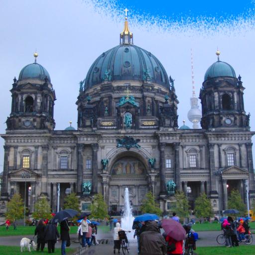 ドイツ ベルリン大聖堂:外観(DE015) 旅遊 App LOGO-硬是要APP