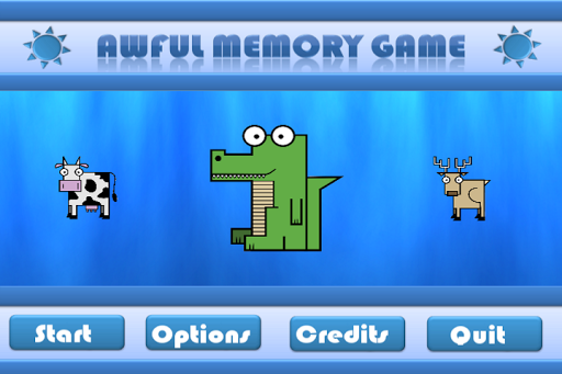 Awful Memory Game