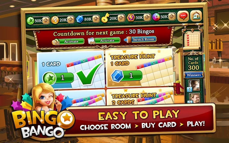 Bingo Bango - Free Bingo Game Screenshot