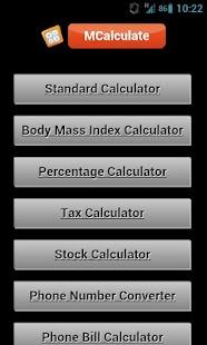 All in 1 Calculator - screenshot thumbnail