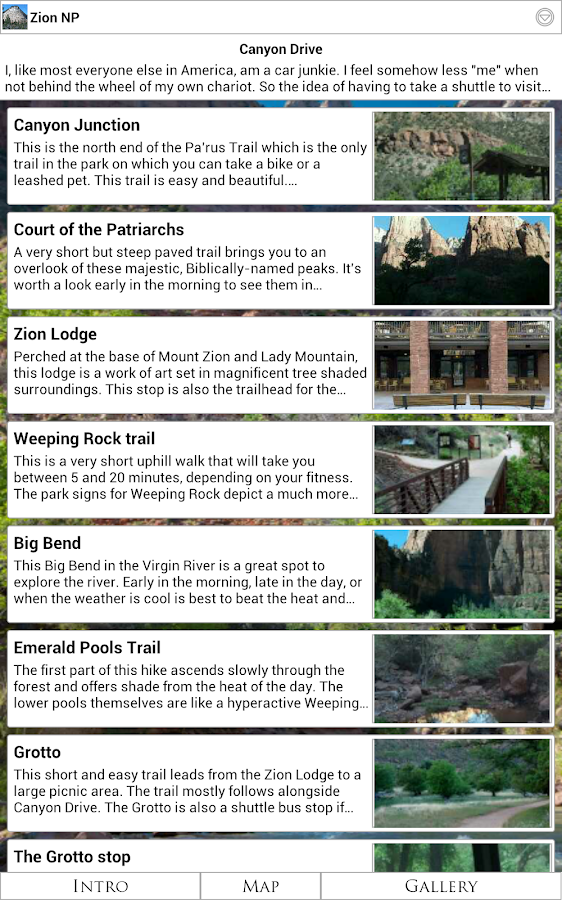 Zion National Park - Android Apps on Google Play