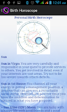 Personalized Astrology screenshot thumbnail