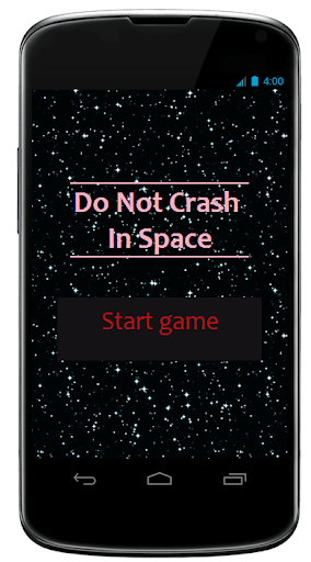 Don't Crash In Space