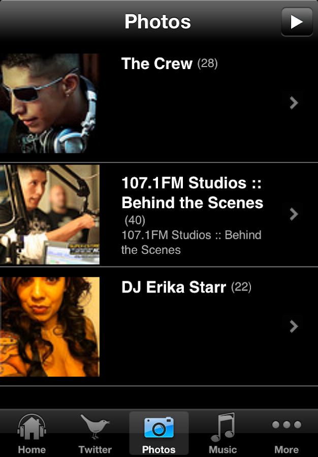 Remix Radio - screenshot