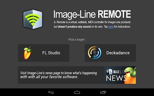 Image-Line Remote - screenshot thumbnail