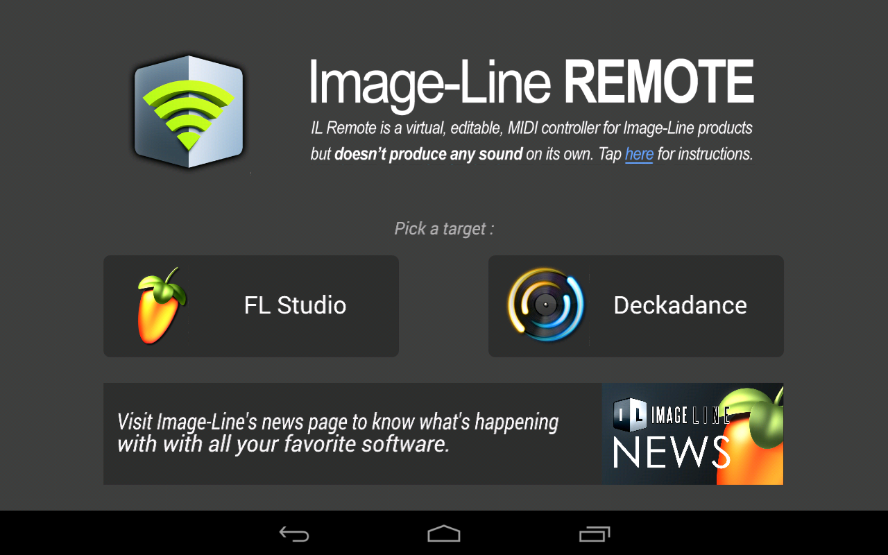 Image-Line Remote- screenshot