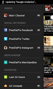 PewDiePie Videos - screenshot thumbnail