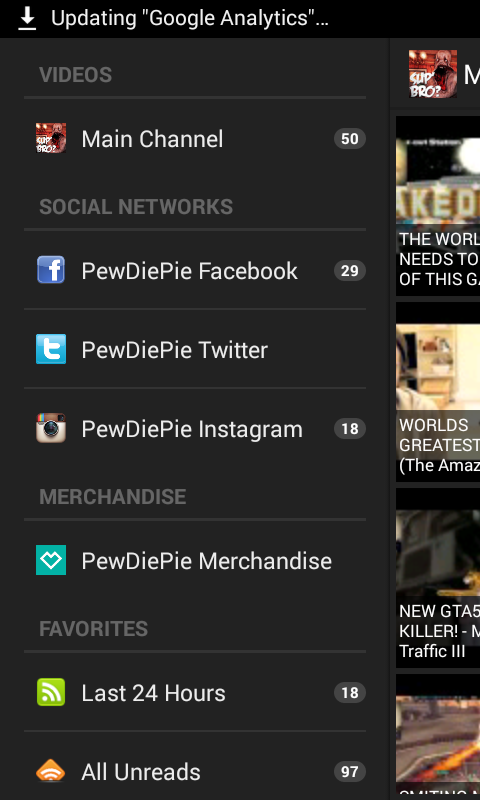 PewDiePie Videos - screenshot