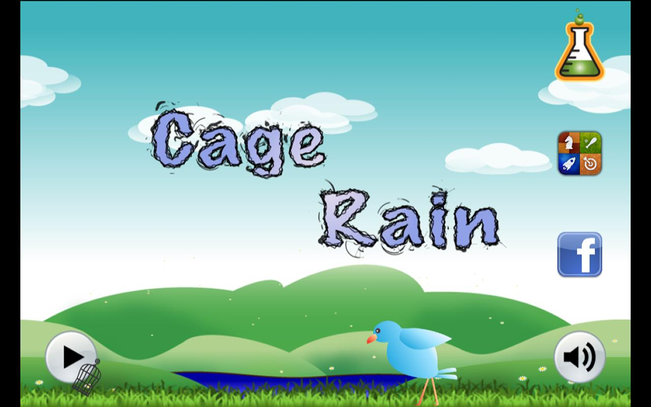 Cage Rain - screenshot