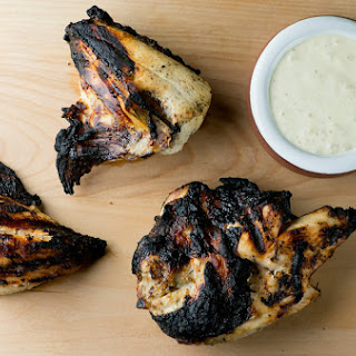 Barbecue Chicken with Alabama White Sauce