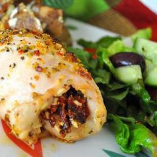 Mediterranean-Style Stuffed Chicken Breast.