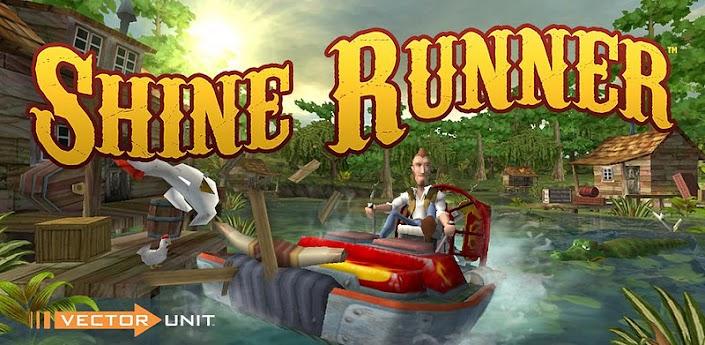 Скачать Shine Runner - безбашенные гонки на катерах для Android