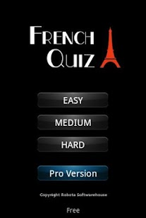 French Quiz- screenshot thumbnail