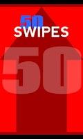 Screenshot of 50 Swipes