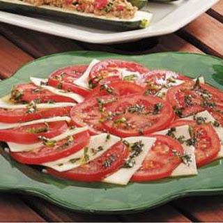 Tomato Mozzarella Salad.