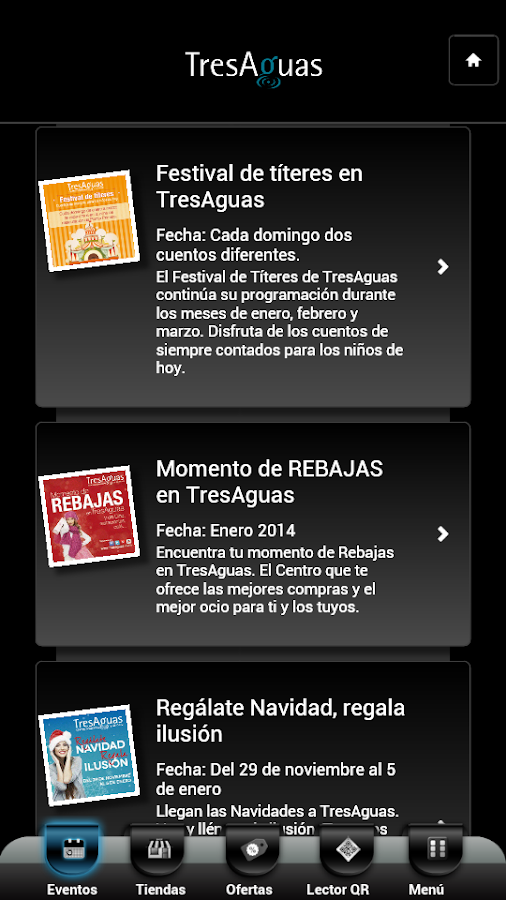 TresAguas C.C. - screenshot