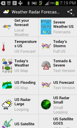 Weather Radar Forecast App