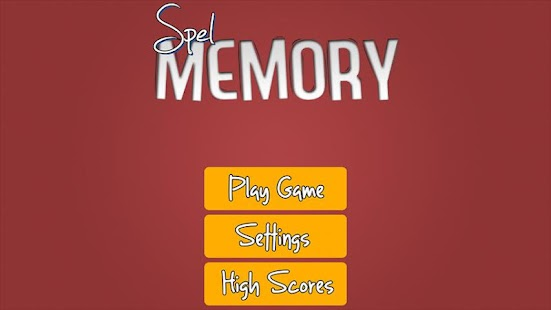 Spel Memory - screenshot thumbnail